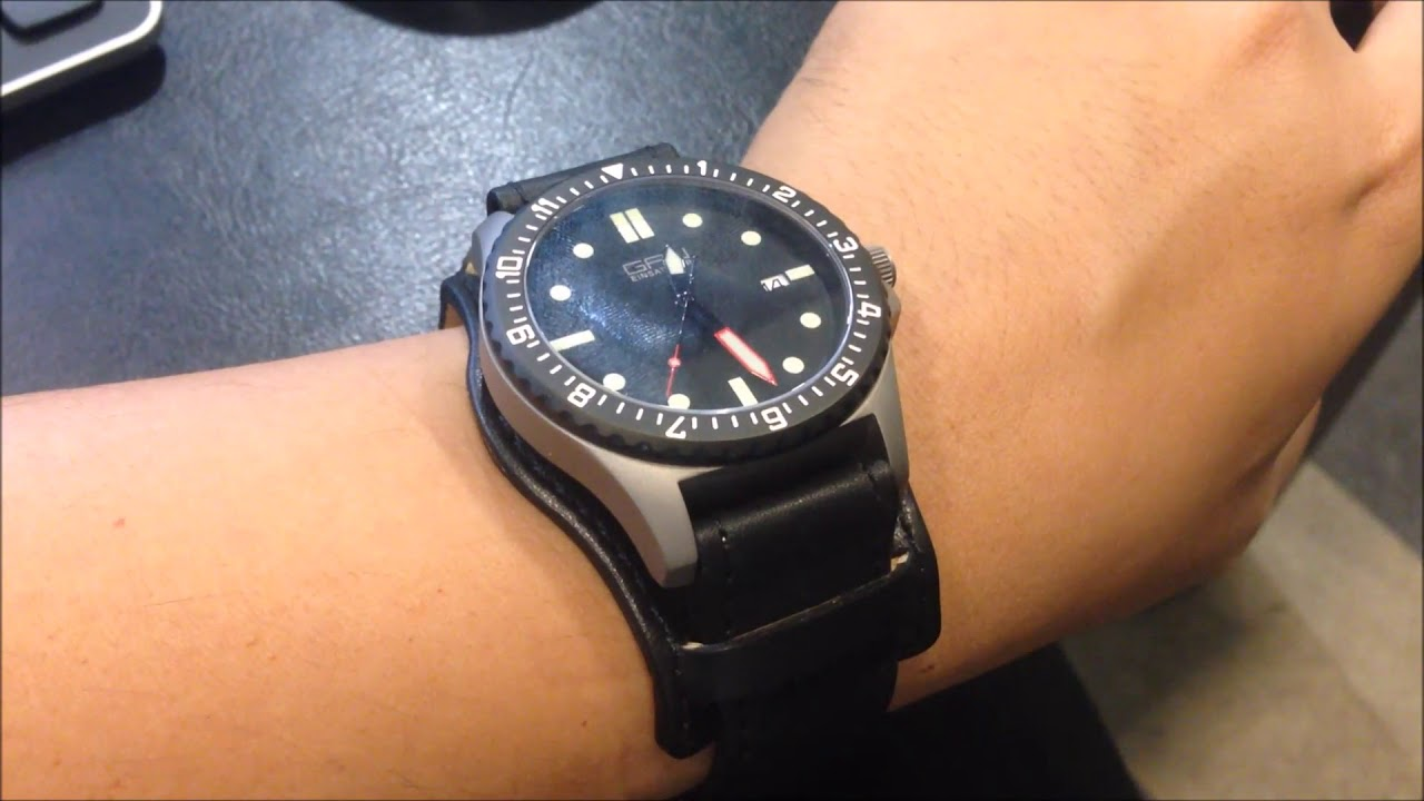 25ca8a17cee Short Review on the German GPW Military Titanium Automatic Watch ...