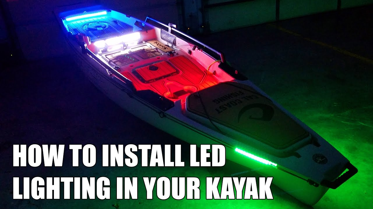 maxresdefault how to install led lighting in your kayak youtube kayak wiring diagram at bayanpartner.co