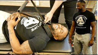 FITNESS *Weightlifter* BACK PAIN RELIEF from CHIROPRACTIC CRACK