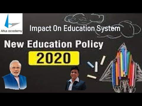 NEP | New Education Policy - 2020 | Detailed Analysis | By Altus Academy Institute