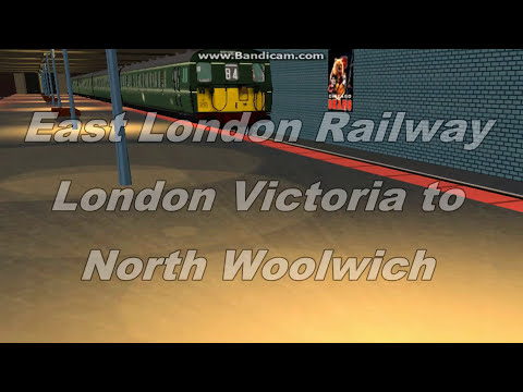 Trainz Routes: East London Railway (Part 1)