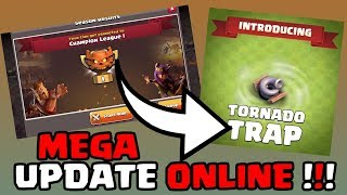 MEGA UPDATE ONLINE - NEW CLAN WAR LEAGUES | CLASH OF CLANS [577] || [Deutsch/German HD+] ||