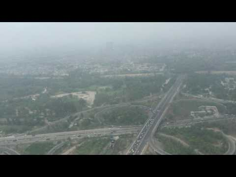 DELHI AERIAL VIEW ! SIGHTSEEING ! PAWAN HANS: HELICOPTER BELL 407: PART 2