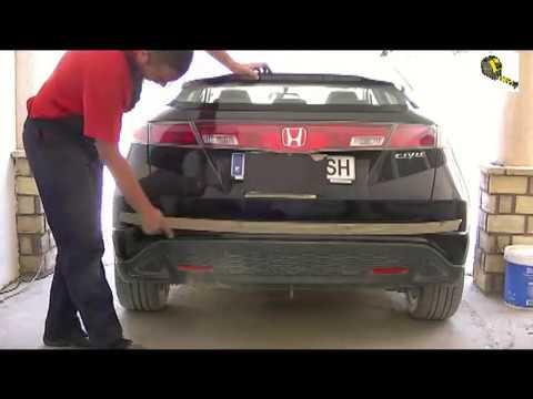 Como montar o instalar sensores de aparcamiento o estacionamiento paso a paso ( FACIL )