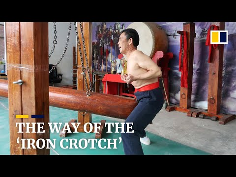 Fight to save 'iron crotch' kung fu moves online with unflinching martial arts masters in China