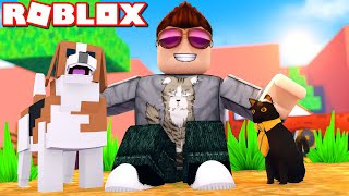 A FARM WITH PETS! -Roblox Pet Ranch Simulator english
