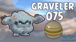 Alolan Graveler evolution - Generation 7 Pokedex 075 - Pokemon GO [No Hack]