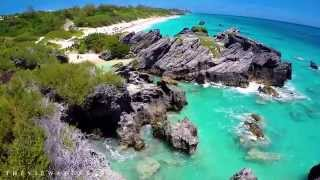 View Above Bermuda Beaches