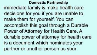 Family Law Lawyer Colorado Springs | Domestic Partnership