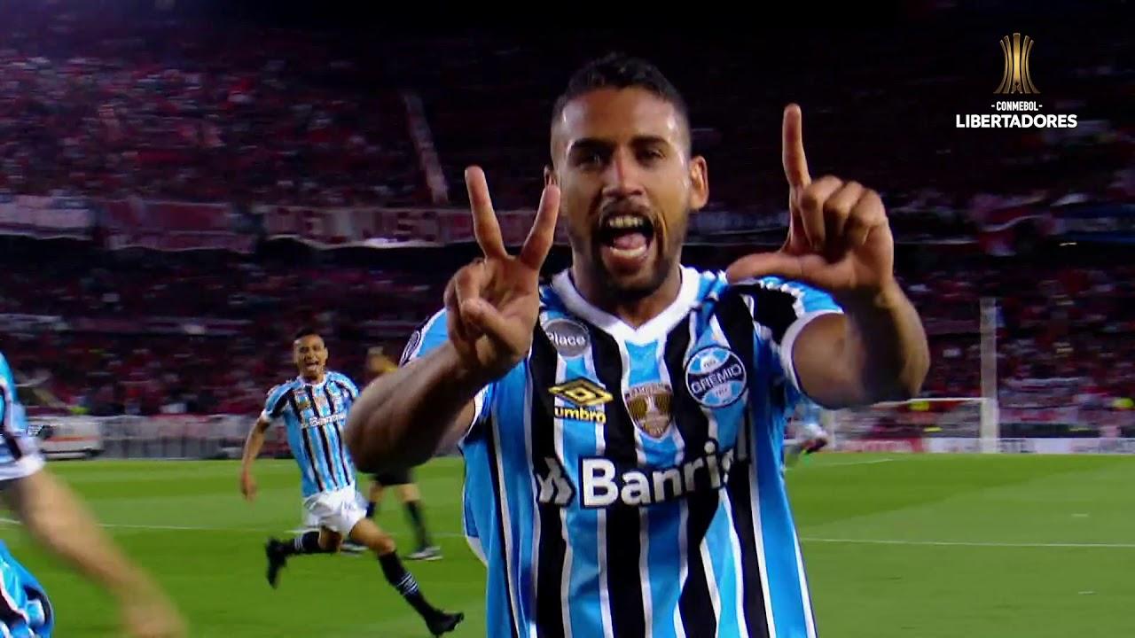 Gremio consigue un valioso triunfo ante River Plate - YouTube 460490bb52ffd