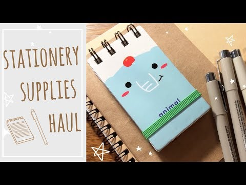 Stationery supplies haul // Banggood