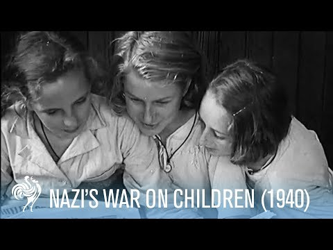 Nazi's War On Children: Survivors Evacuating Torpedoed Ship (1940)   War Archives