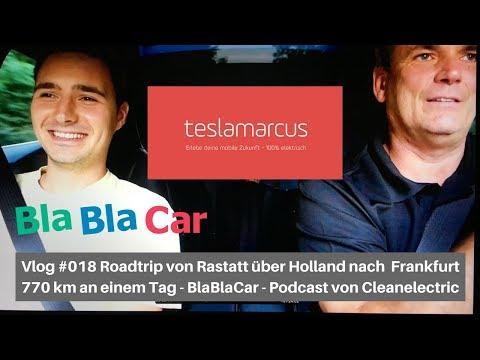Vlog #018 Roadtrip über Holland nach Frankfurt - BlaBlaCar - Cleanelectric Podcast