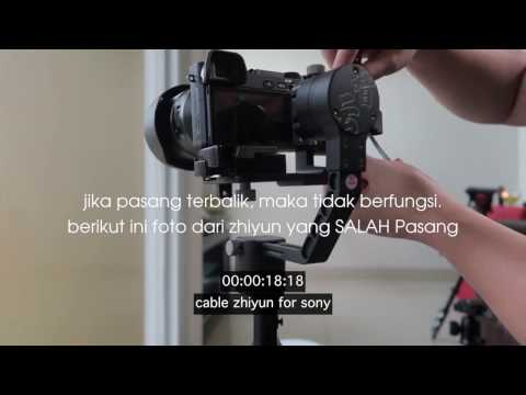 Zhiyun Sony Cable Tutorial for Crane M and Crane