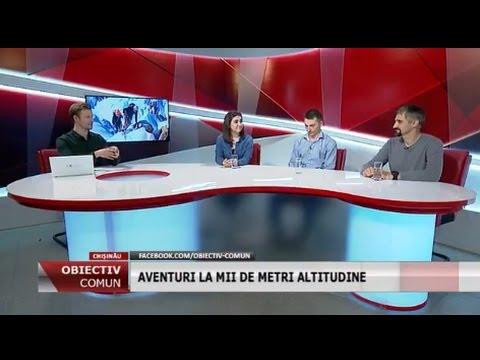 """Emisiunea """"Obiectiv Comun"""" - Sporturile extreme în Moldova / 29.03.2017"""