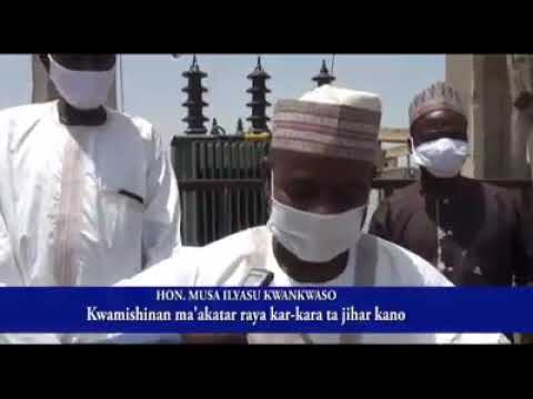 Download Kwamishinan Raya Karkara Dr Musa Ilyasu Kwankwaso.