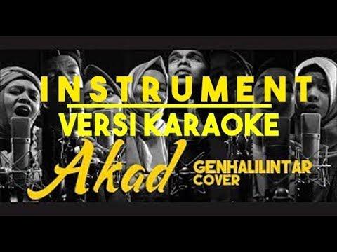 INSTRUMENT LAGU AKAD COVER GEN HALILINTAR !!