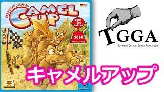 TGGA(豊富ドイツゲーム協会)です! 今回のゲームは『キャメルアップ』 ...