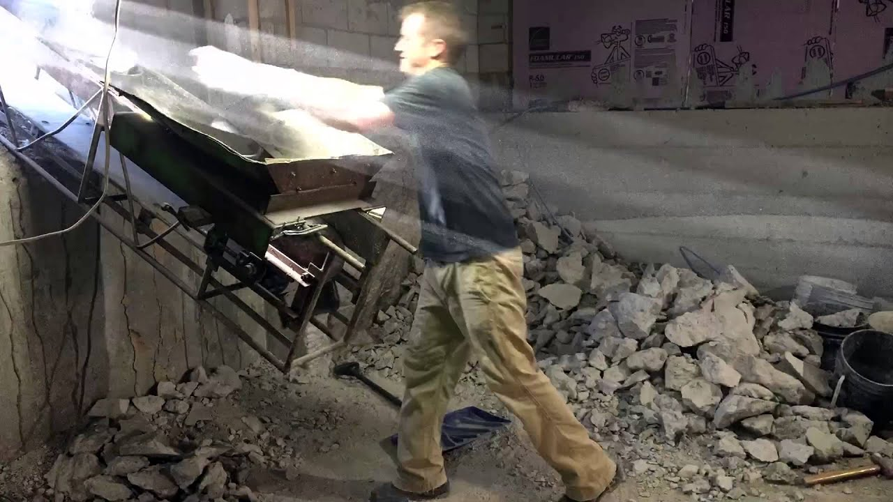 Basement Dig Out Part  Timelapse YouTube - Digging basement cost