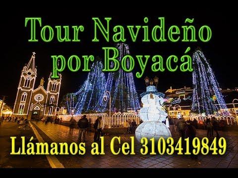 Tour Navideño y alumbrados por Boyacá desde Bogotá 2014