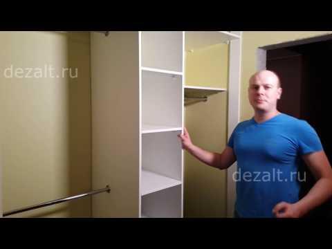 Встроенные шкафы купе на заказ, каталог Легкомаркет