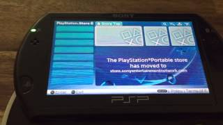 How to download purchased game from PSP GO