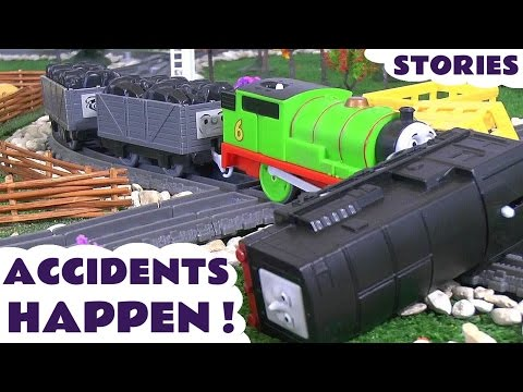 Thomas & Friends Accidents Happen with Toy Trains Fun Family Train Stories by ToyTrains4u