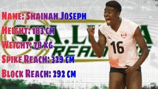 Shainah Joseph| 2016 FIVB World Volleyball Grandprix