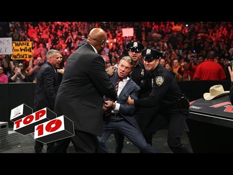 Top 10 Raw moments: WWE Top 10, December 28, 2015