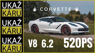 4K | SUPERSPORT ZA SUPER PENÍZE! | CHEVROLET CORVETTE C7 | 520ps