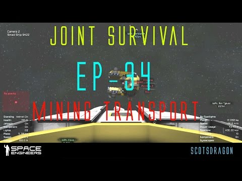 EP-34 Space Engineers, Joint Survival Mining Transport