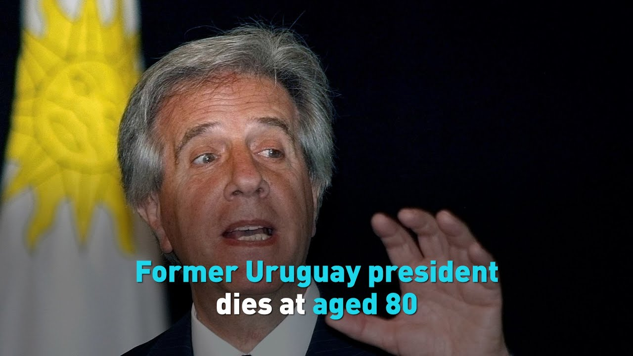 Former Uruguay president dies at aged 80