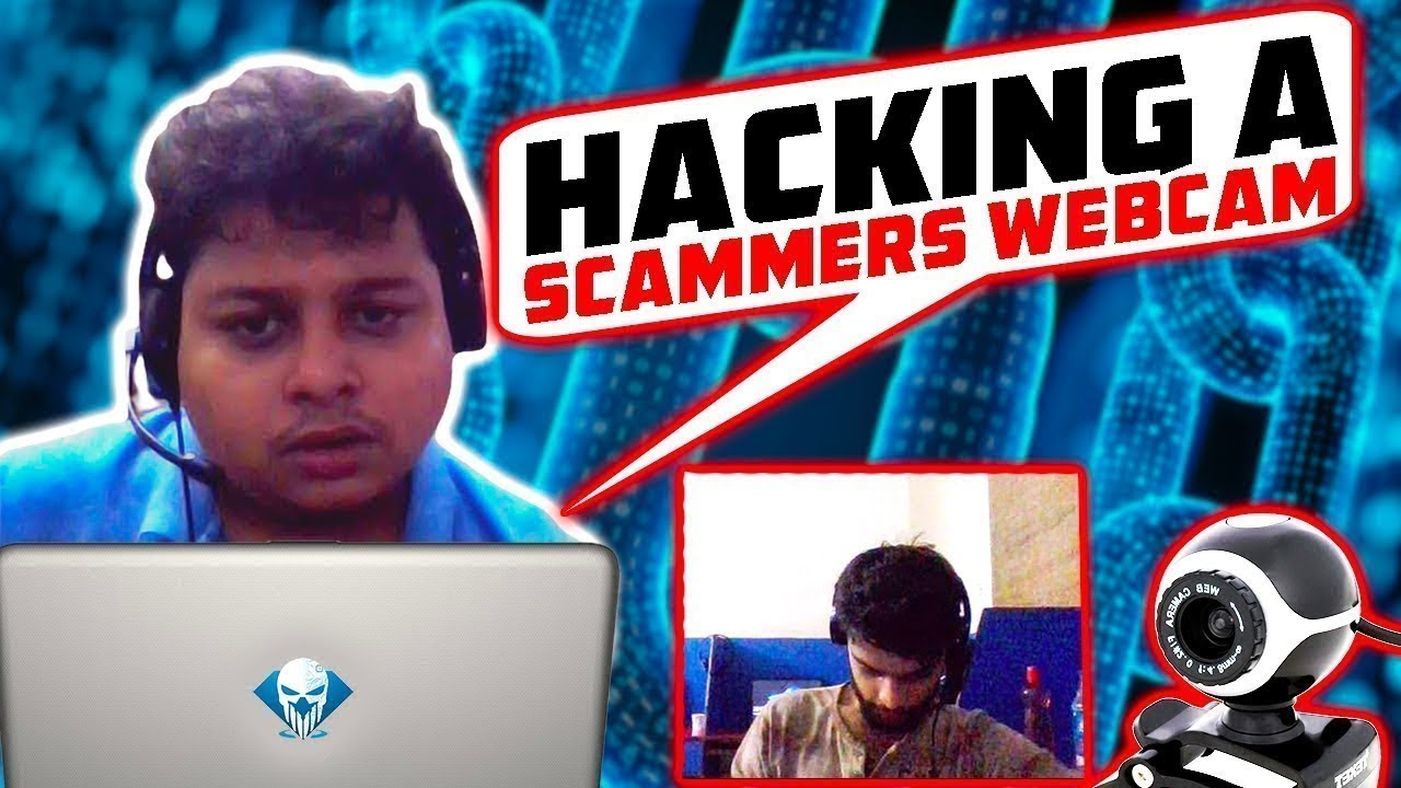 We Hacked a Scammers Webcam - Tech Support Scam