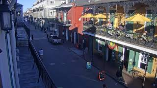 EarthCam Live - New Orleans Cats Meow Balcony