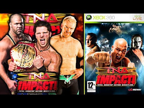 This Non-WWE Game Is Terrible!   TNA Impact!