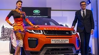 2016 Range Rover Evoque Launched By Jacqueline Fernandez | Priced at Rs 47.1 Lakh