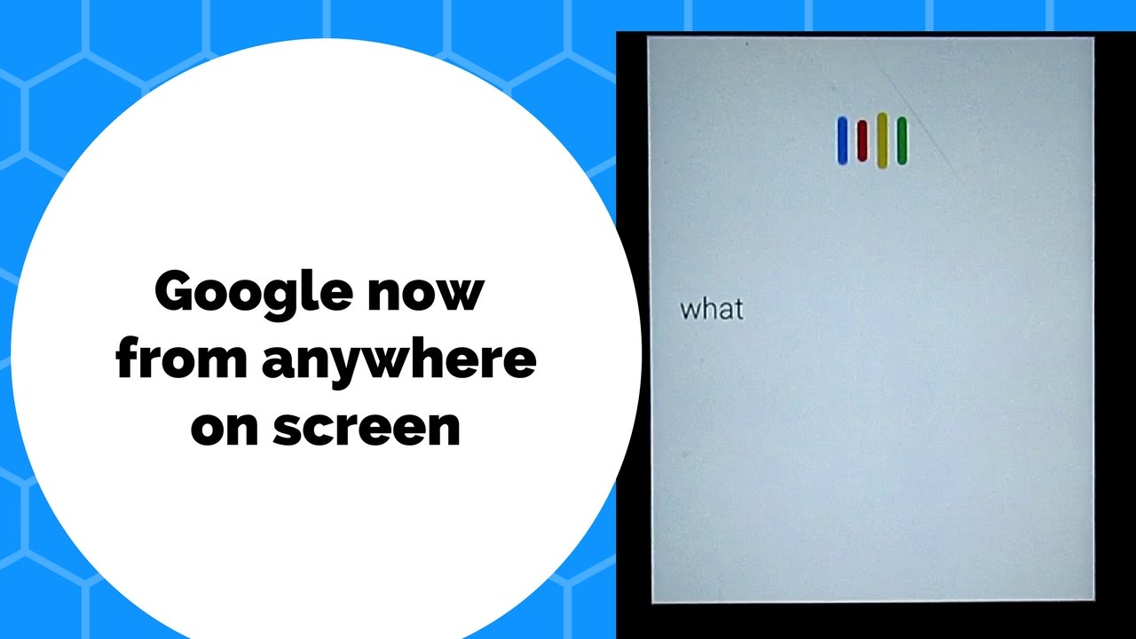 how to stop google now on android