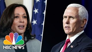 Vice Presidential Candidates Prepare For Only 2020 Debate | NBC News NOW