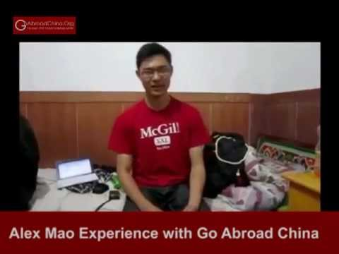 Alex talks about his experience as a Go Abroad China volunteer in China.