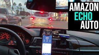 Amazon Echo Auto With Setup And In-Car Demo