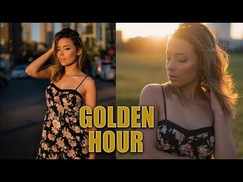 Take better GOLDEN HOUR portraits | Natural light Photography Tutorial