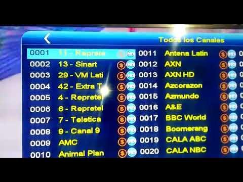 DISTRIBUIDORA CEPEDA 0992926092 / 0999080583 / 0999776168 CANALES HDMI DEL SATÉLITE STAR ONE