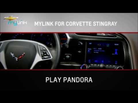 2015 Corvette MyLink Radio Using Pandora
