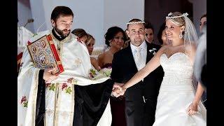Венчание на Родосе Марии и Георгия