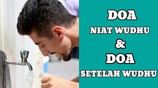 Doa Niat wudhu dan doa setelah wudhu