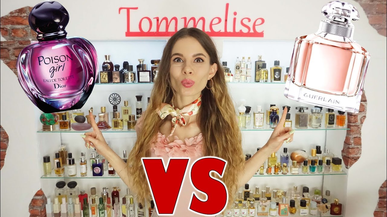 Mon Guerlain Edt Vs Poison Girl Edt Perfume Comparison Tommelise