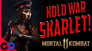 Morta Kombat 11 SKINS de Kold War Skarlet y Kano Cangaceiro en camino!!