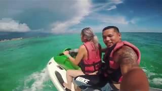 SHARK ATTACK captured in GoPro Freeport Bahama port lucaya