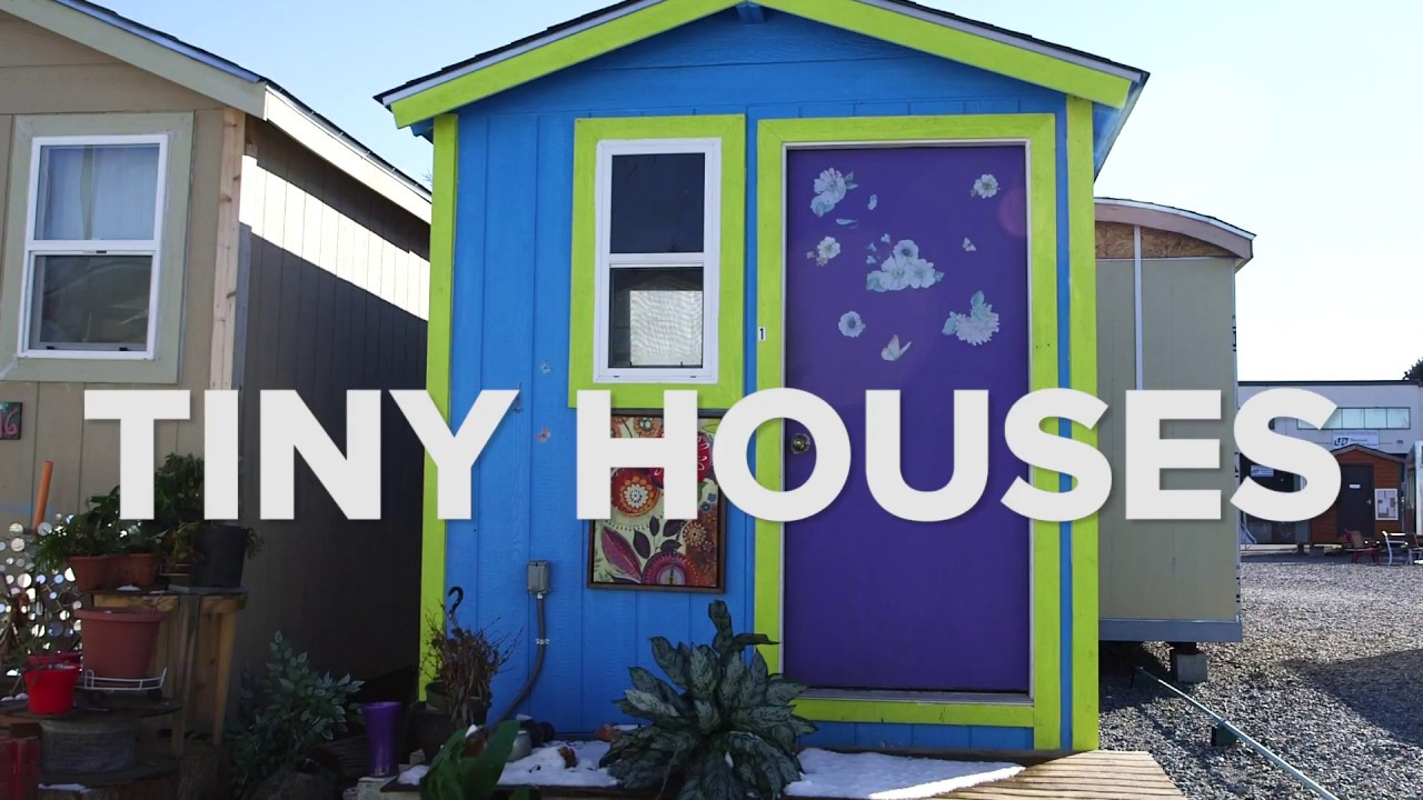 Photos Tiny House Seattle Wa: Tiny Homes Offer Innovative Solution To Homelessness In