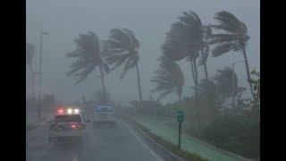 Uragano IRMA sta devastano gli USA - video da MIAMI in Diretta 🌪